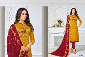 Fancy silk Dress materials